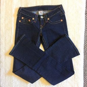 "True Religion Jeans ""Lexi"" Dark Wash 25"